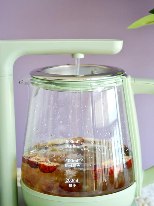 牛奶桃胶红枣羹的简单做法