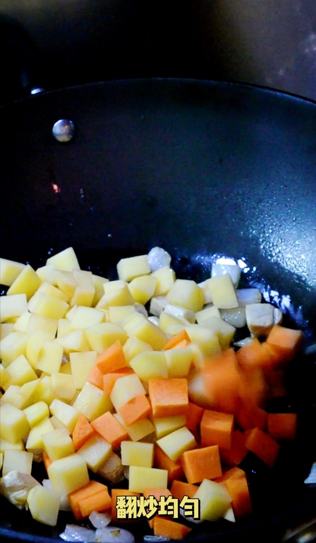 超可爱的小萌鸡咖喱饭,做法简单,宝宝超爱吃怎么做