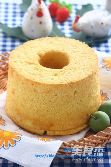 南瓜戚风蛋糕的家常做法