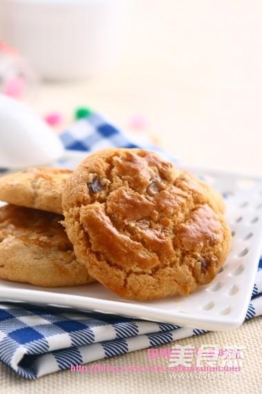 核桃酥饼成品图