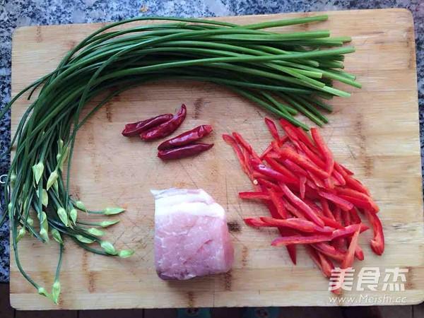 韭菜苔炒肉丝的做法大全
