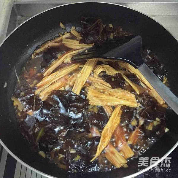 红烧腐竹怎么煮