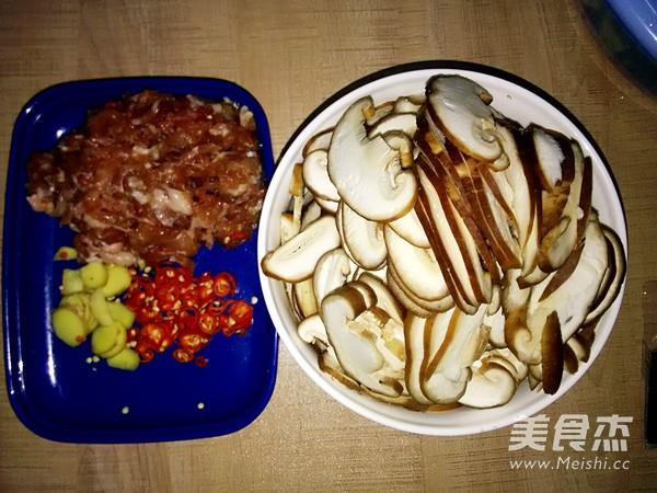 蘑菇炒肉的家常做法