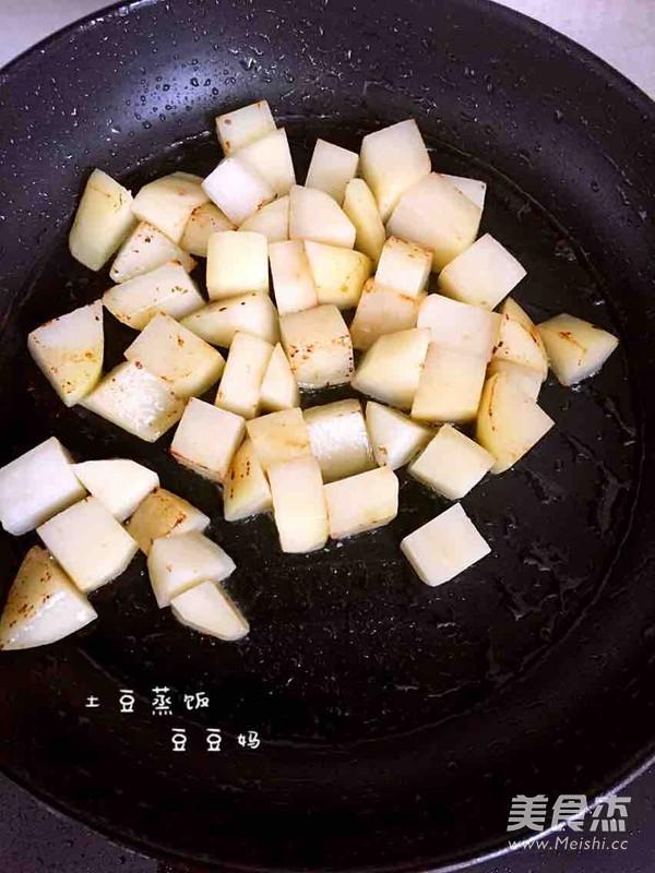 土豆焖饭怎么煮