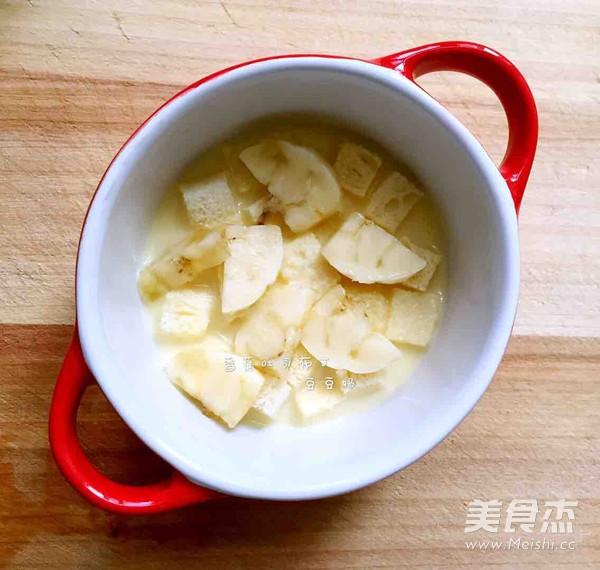 香蕉吐司布丁怎么炒
