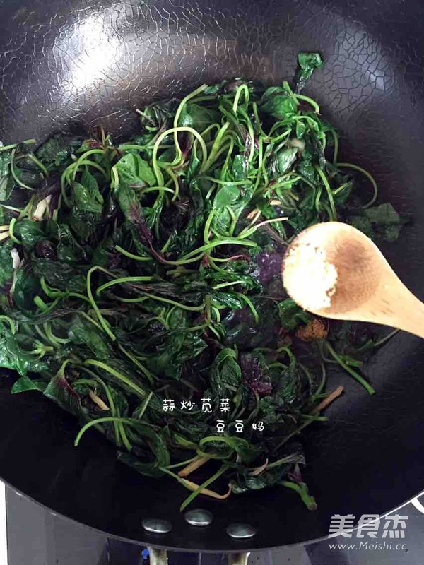 蒜炒苋菜怎么做