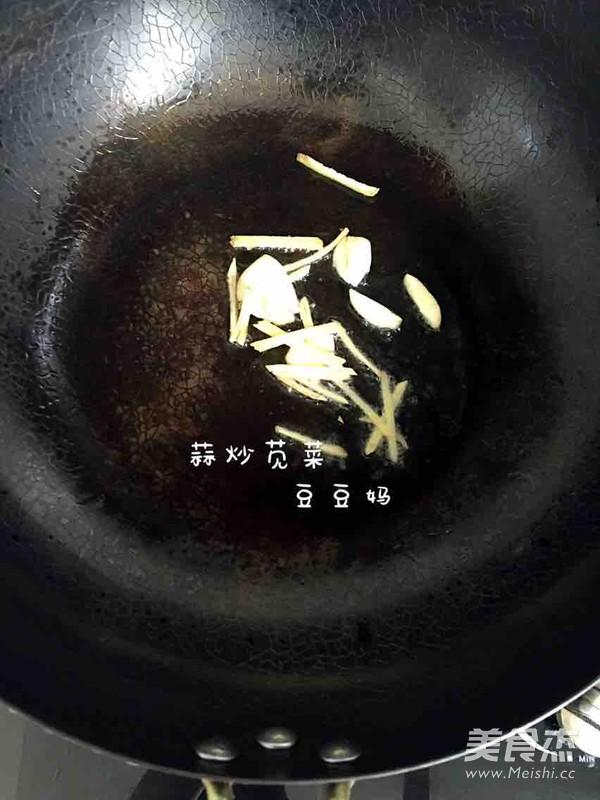 蒜炒苋菜的家常做法