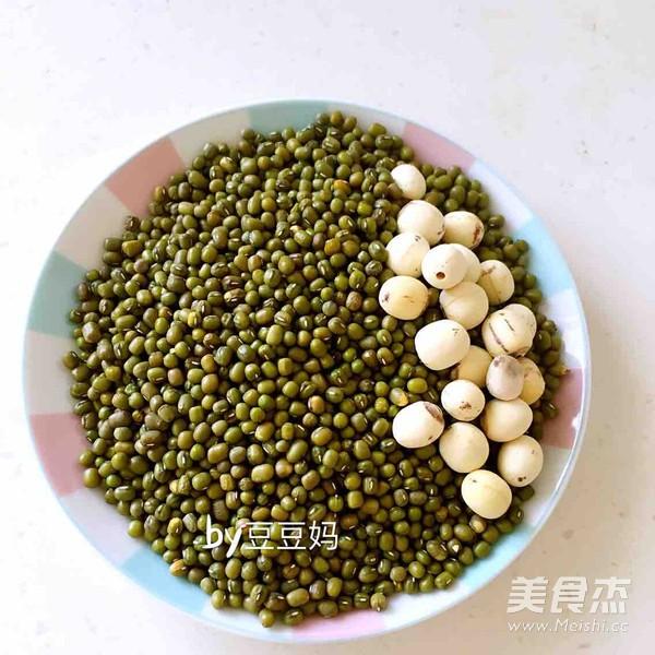 解暑绿豆莲子汤的步骤