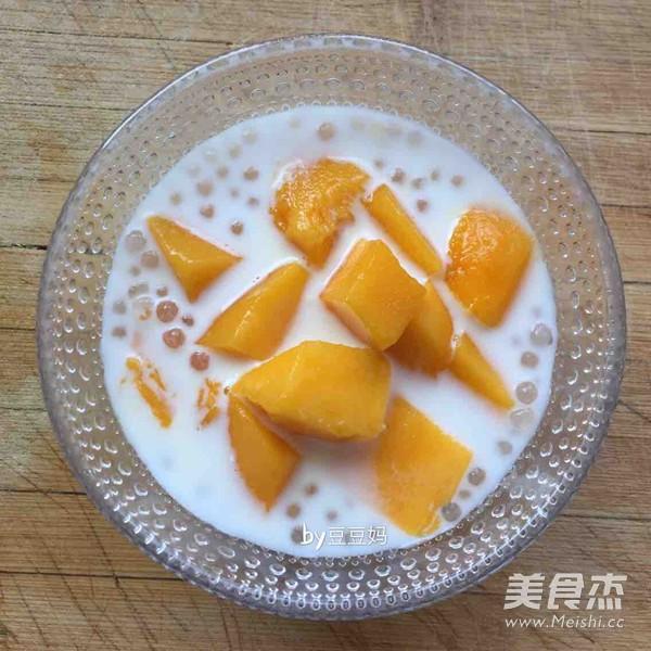 牛奶芒果西米露怎么做