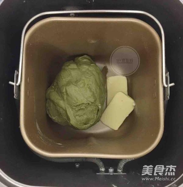 抹茶麻薯核桃欧包的做法大全