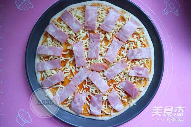 12寸培根田园披萨怎么炒