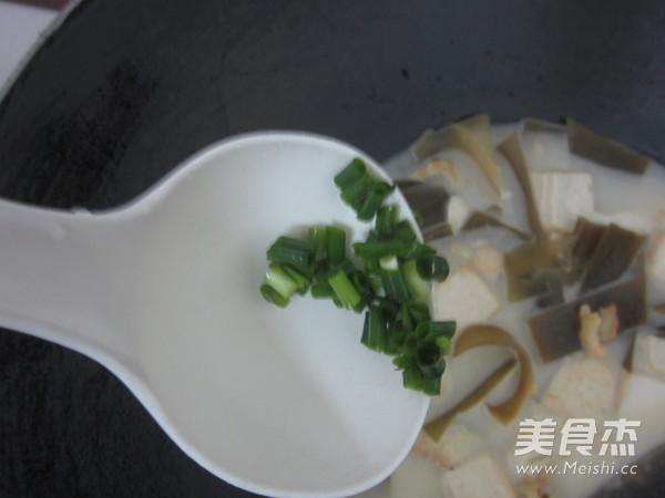 海带豆腐汤怎么炖