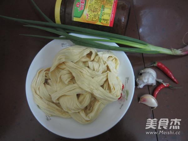 黄豆酱蒸腐竹的做法大全