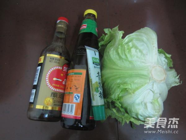 芥末蚝油生菜的做法大全