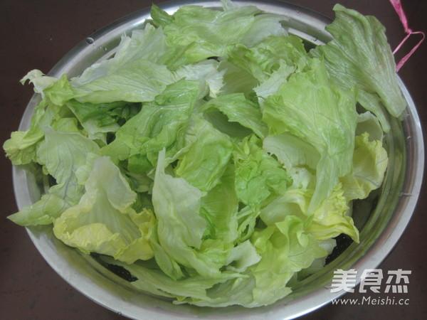 芥末蚝油生菜的简单做法