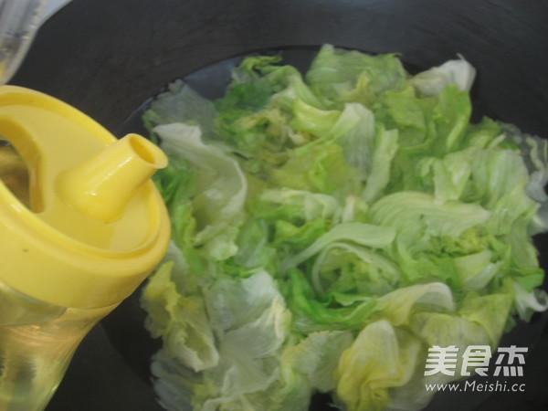 芥末蚝油生菜怎么做