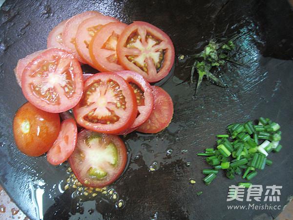 鲜茄鸡蛋河粉的做法图解