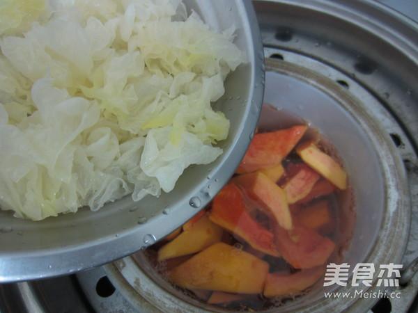 雪耳冰糖炖木瓜怎么煮