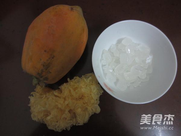 雪耳冰糖炖木瓜的做法大全