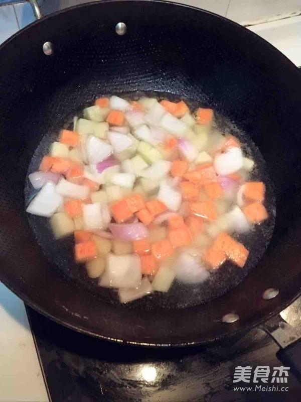 素食咖哩的简单做法