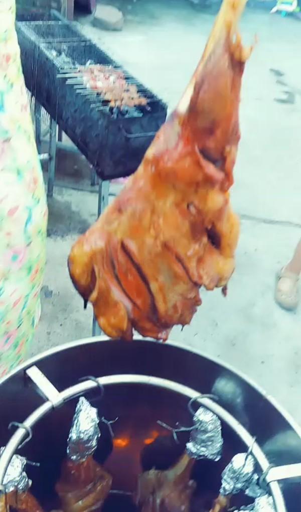 烤羊腿怎么做