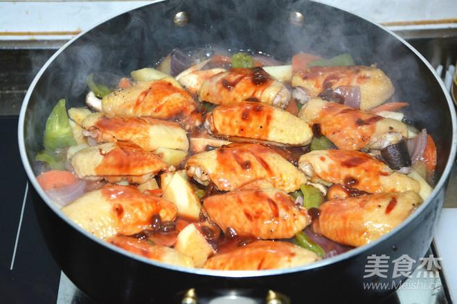三汁鸡翅焖锅怎么煮