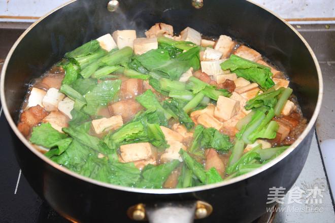 五花肉烧豆腐怎么炖