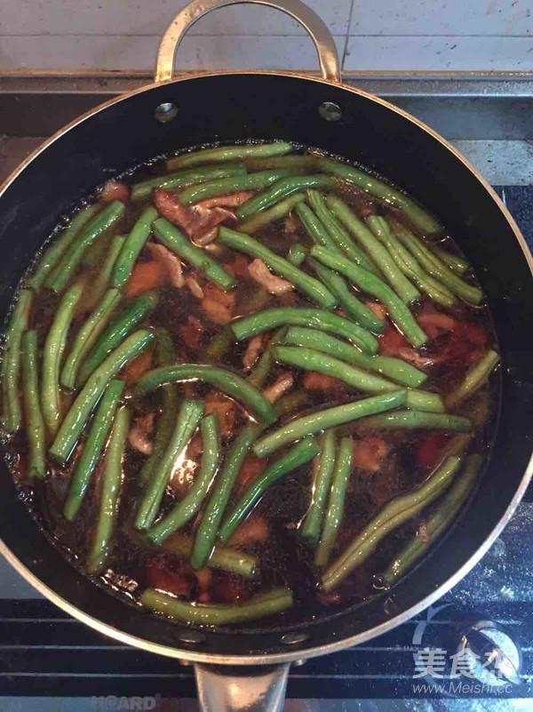 扁豆焖面的简单做法