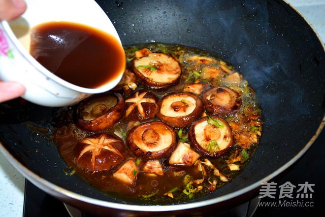 香菇油菜怎么炒