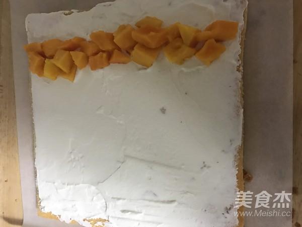 芒果流心蛋糕卷怎么煮