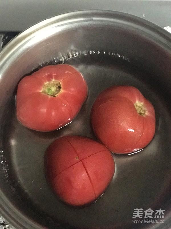 西红柿打卤面怎么做