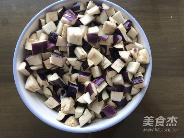 青椒紫茄醬肉包的步驟