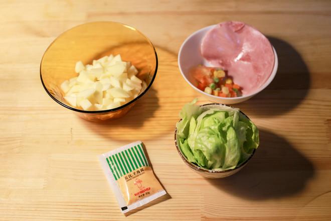 土豆泥沙拉的步骤