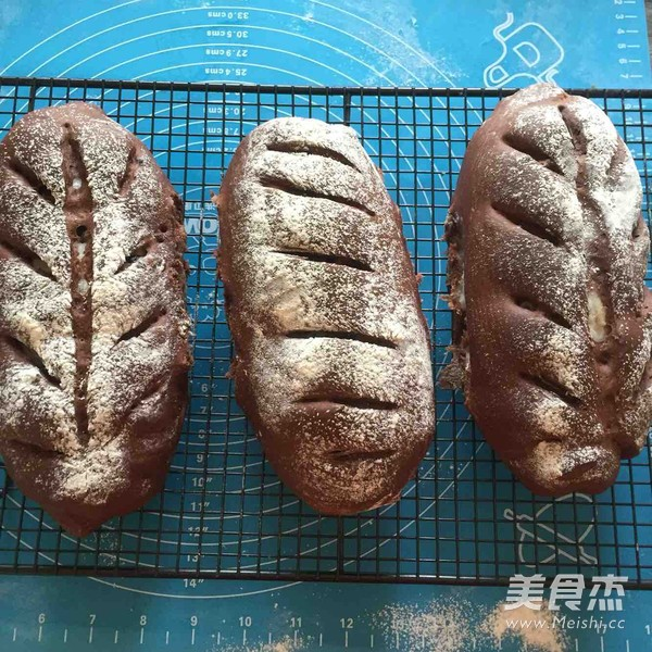 可可麻薯软欧包的制作方法