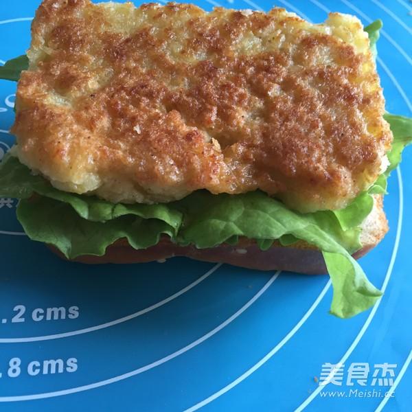 鳕鱼潜艇汉堡的做法大全