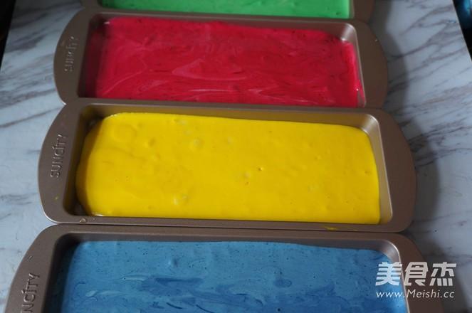 彩虹推推乐蛋糕怎样做