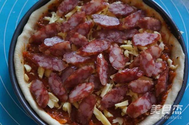 香肠披萨怎么做