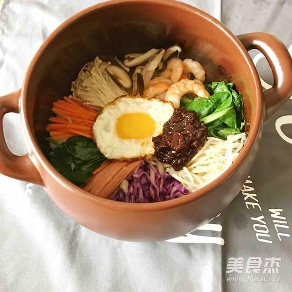 坤博砂锅韩式石锅拌饭怎么炒