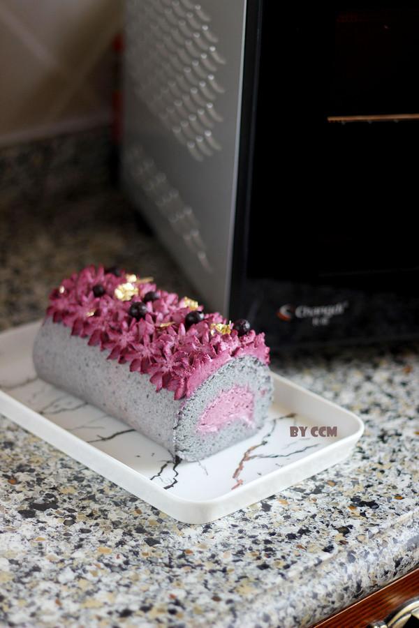 黑穗醋栗仙女蛋糕卷的做法大全