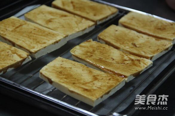 烤豆腐的家常做法