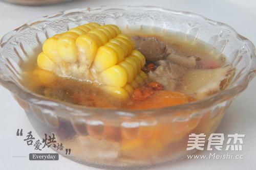 山药玉米瘦肉汤的简单做法