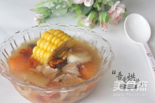 山药玉米瘦肉汤的家常做法