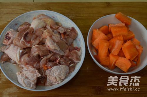胡萝卜鸡腿肉的做法大全
