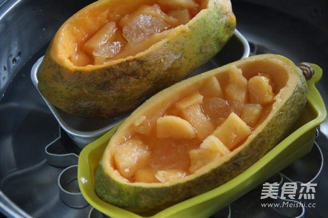 冰糖木瓜炖燕窝怎么吃