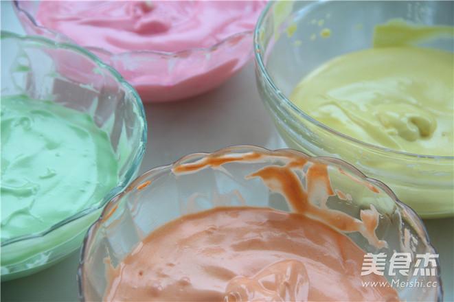 七色绚丽 梦幻の约—彩虹蛋糕的做法图解