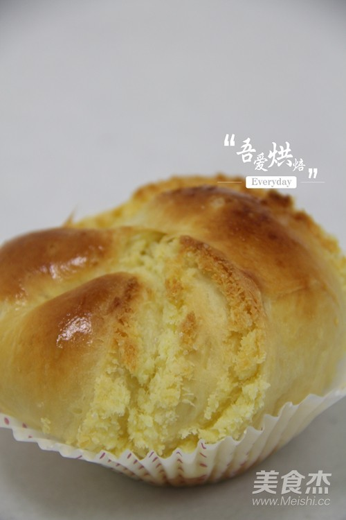 奶香椰蓉面包卷的制作