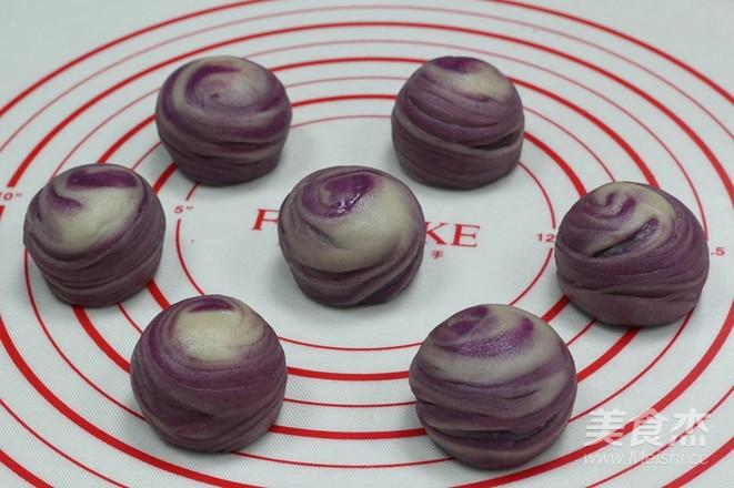 层次分明,酥得掉渣——紫薯酥怎样炒