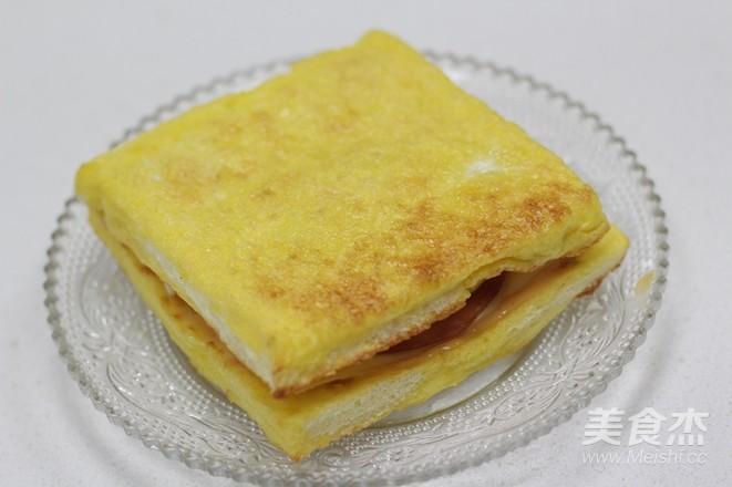 10分钟的快手早餐——芝士火腿三明治怎样炒