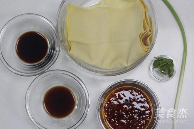 凉拌豆腐皮的做法大全