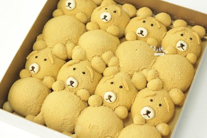 小熊挤挤面包的做法大全